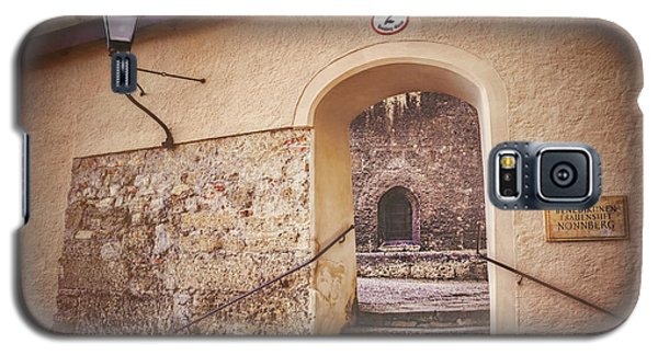 Galaxy S5 Case featuring the photograph Nonnberg Abbey In Salzburg Austria  by Carol Japp
