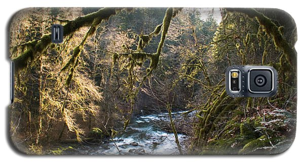 Galaxy S5 Case featuring the photograph Nooksack River by Yulia Kazansky