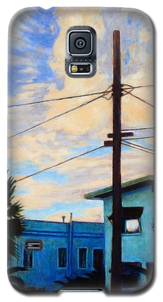 Galaxy S5 Case featuring the painting Normal Ave by Andrew Danielsen