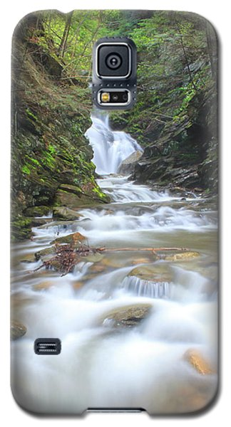 North Adams Cascade  Galaxy S5 Case by John Burk