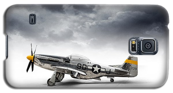Galaxy S5 Case featuring the digital art North American P-51 Mustang by Douglas Pittman