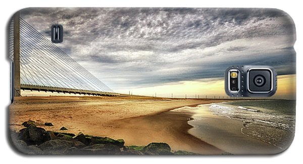 North Beach At Indian River Inlet Galaxy S5 Case