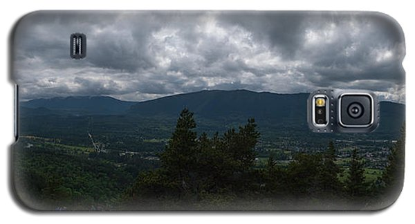 Galaxy S5 Case featuring the photograph North Bend Washington Panorama by Joshua House