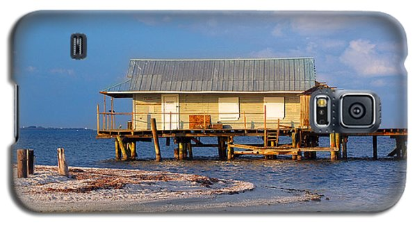 North Captiva Island Last Stilt House Standing Galaxy S5 Case