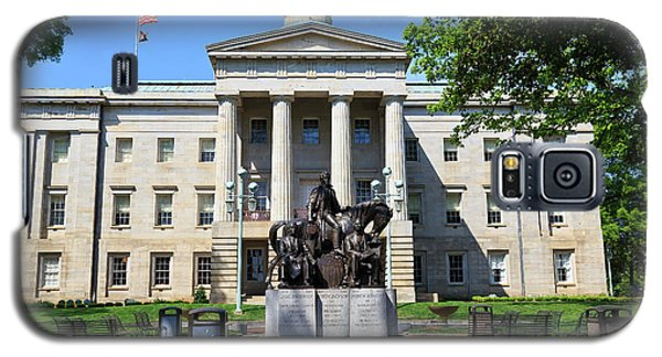 North Carolina State Capitol Building With Statue Galaxy S5 Case