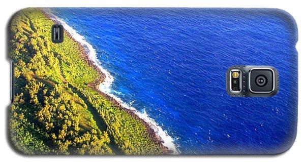 North Coast Of Tinian At Sunrise Galaxy S5 Case