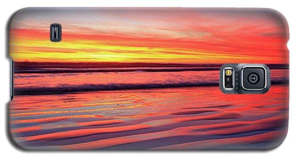 Oceanside Sand Ripples Galaxy S5 Case