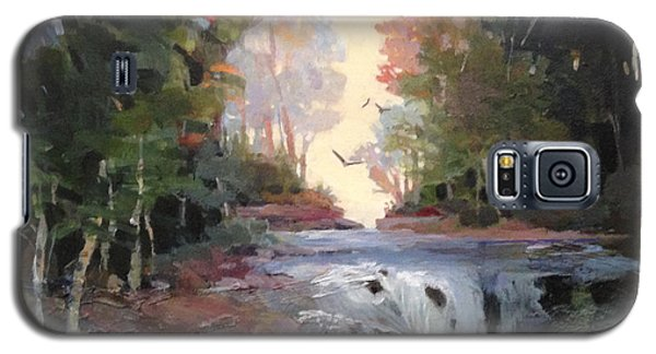North Creek ...revisited Galaxy S5 Case by Helen Harris