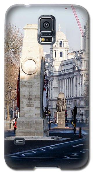 North Facade Of Cenotaph War Memorial Whitehall London Galaxy S5 Case