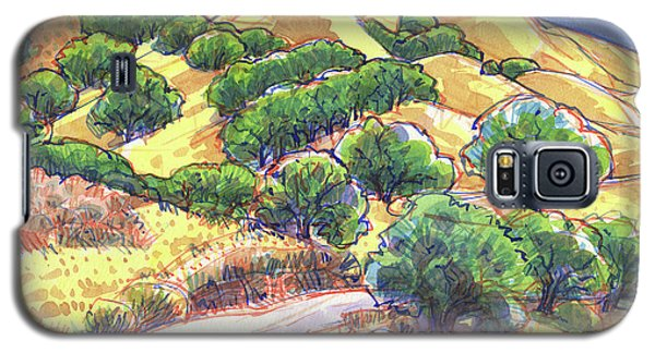 North Gate Road, Mount Diablo Galaxy S5 Case