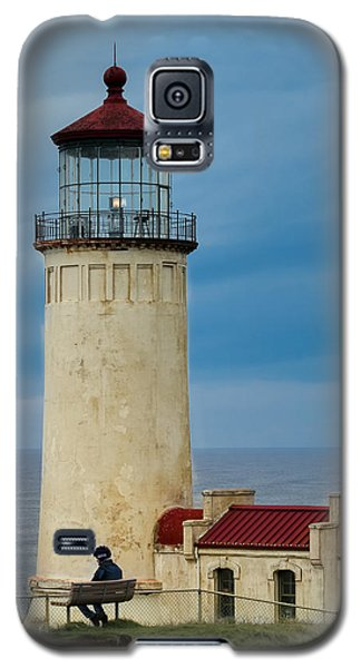 Galaxy S5 Case featuring the photograph North Head Lighthouse by E Faithe Lester