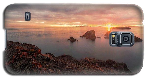 North Puget Sound Sunset Galaxy S5 Case by Ryan Manuel