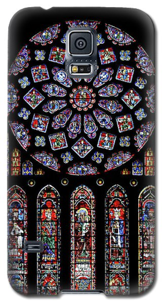 North Rose Window Of Chartres Cathedral Galaxy S5 Case