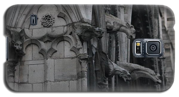 Galaxy S5 Case featuring the photograph North Side Notre Dame Cathedral by Christopher Kirby