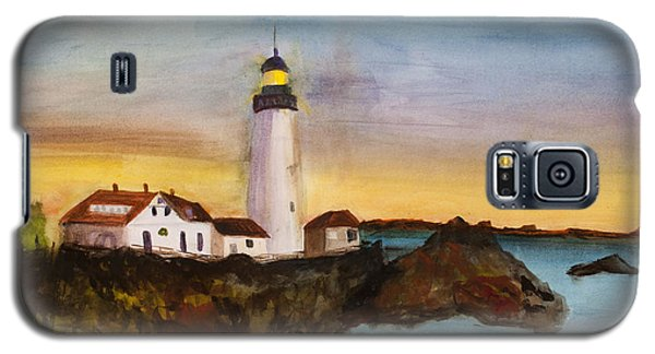 North Truro Light House Cape Cod Galaxy S5 Case by Donna Walsh