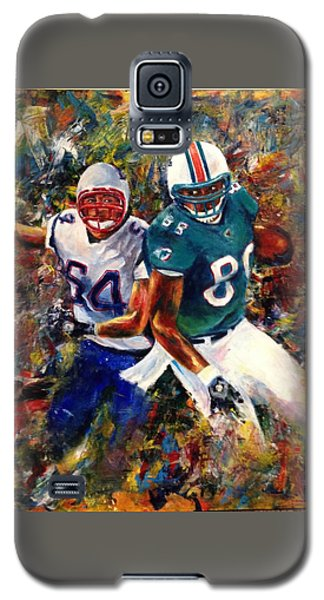 Galaxy S5 Case featuring the painting North Vs. South by Sarah Farren