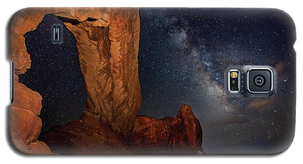 North Window And The Milky Way Galaxy S5 Case