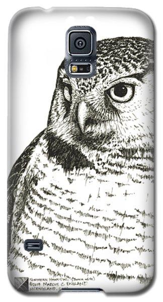 Northern Hawk-owl Galaxy S5 Case