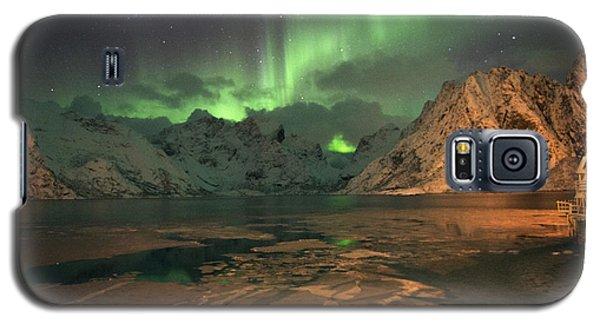 Northern Light In Lofoten, Nordland 1 Galaxy S5 Case