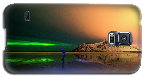 Northern Light In Lofoten, Nordland 4 Galaxy S5 Case
