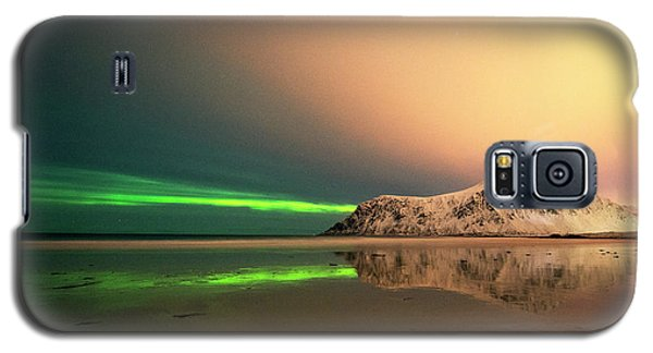 Northern Light In Lofoten Nordland 5 Galaxy S5 Case