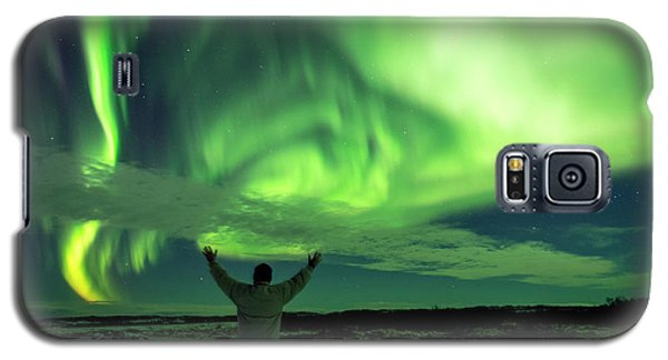 Northern Light In Western Iceland Galaxy S5 Case