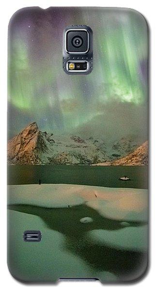 Northern Lights Above Olstinden Galaxy S5 Case