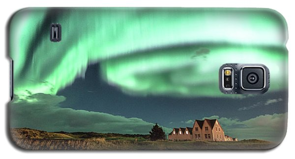 Northern Lights Galaxy S5 Case by Frodi Brinks