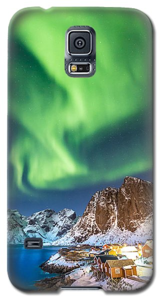Northern Lights In Hamnoy Galaxy S5 Case