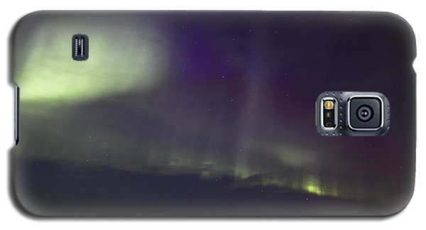 Galaxy S5 Case featuring the photograph Northern Lights Near Yorkton by Ryan Crouse