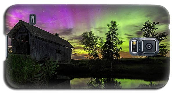 Northern Lights Reflection Galaxy S5 Case