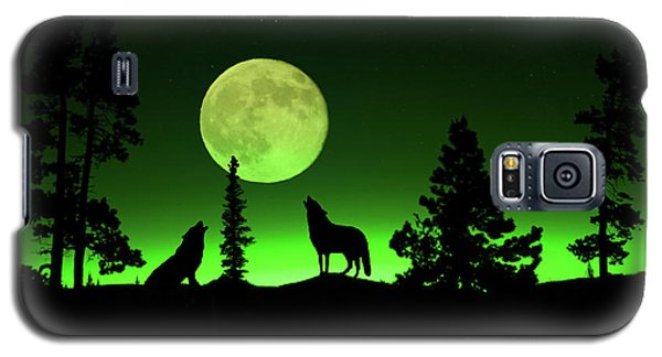 Galaxy S5 Case featuring the photograph Northern Lights by Shane Bechler
