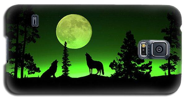 Northern Lights Galaxy S5 Case by Shane Bechler