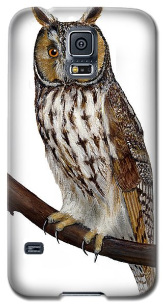 Northern Long-eared Owl Asio Otus - Hibou Moyen-duc - Buho Chico - Hornuggla - Nationalpark Eifel Galaxy S5 Case