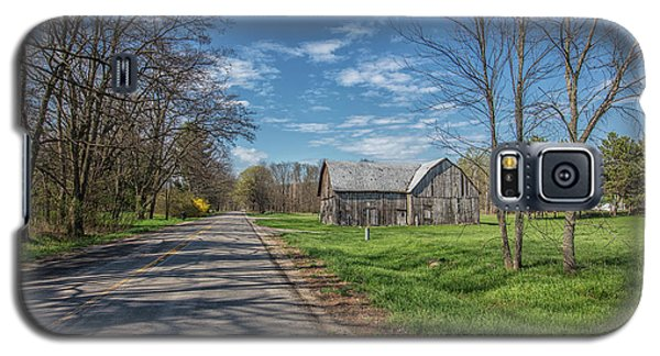 Galaxy S5 Case featuring the photograph Northern Michigan Country Road by John McGraw
