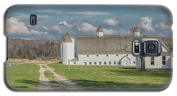 Galaxy S5 Case featuring the photograph Northern Michigan Farm  by John McGraw