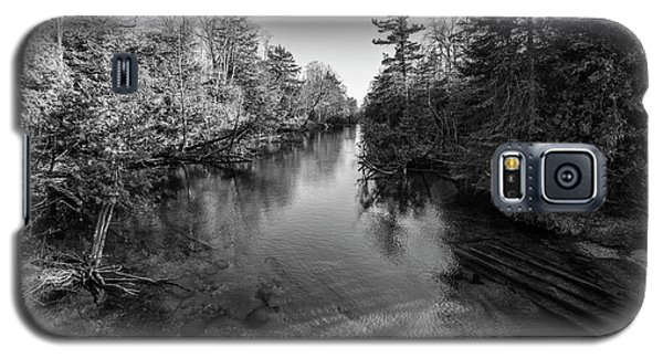 Galaxy S5 Case featuring the photograph Northern Michigan River by John McGraw