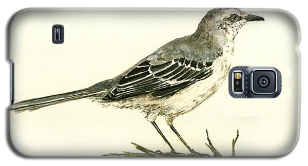 Northern Mockingbird Galaxy S5 Case by Juan  Bosco