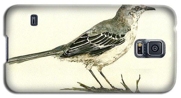 Mockingbird Galaxy S5 Case - Northern Mockingbird by Juan  Bosco