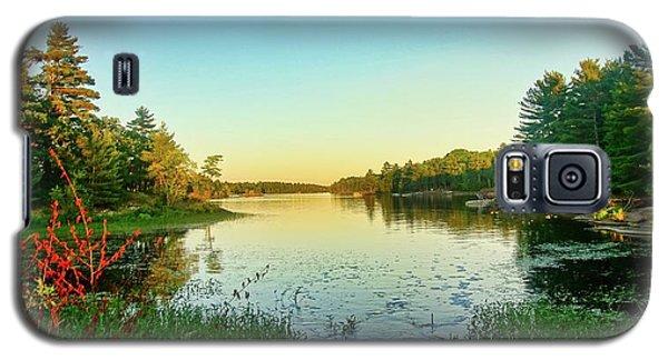 Northern Ontario Lake Galaxy S5 Case