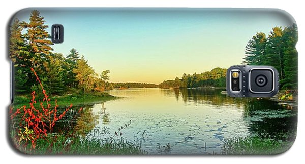 Northern Ontario Lake Galaxy S5 Case