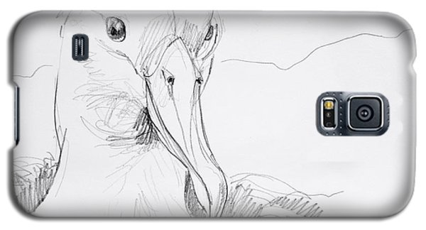 Northern Royal Albatross Galaxy S5 Case