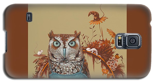 Northern Screech Owl Galaxy S5 Case