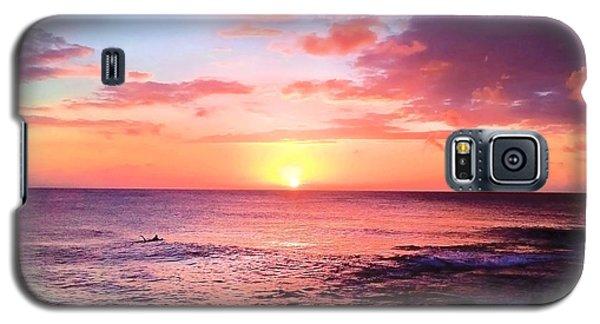 Northshore Sunset Galaxy S5 Case by Kristine Merc