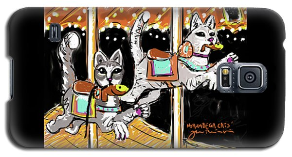 Norumbega Cats Galaxy S5 Case