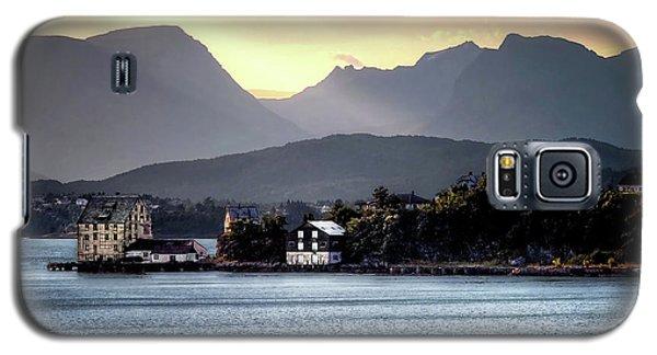 Norwegian Sunrise Galaxy S5 Case by Jim Hill