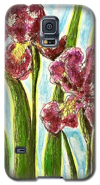 Nostalgic Irises Galaxy S5 Case