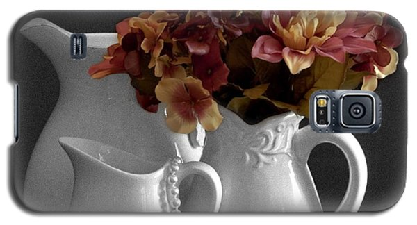 Galaxy S5 Case featuring the photograph Not All Is Black And White by Sherry Hallemeier