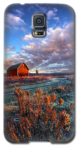 Not All Roads Are Paved Galaxy S5 Case