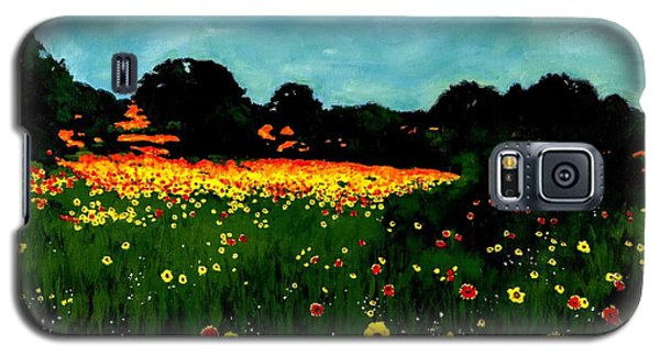 Not Another Bluebonnet Painting Galaxy S5 Case